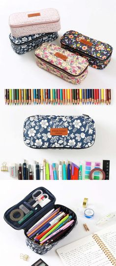 If a beautiful floral pouch is what you might be looking for, search no more because you found it! The Pour Vous Block Pouch is a gorgeous versatile pouch to carry your items! Spacious compartment and easy to access zipper opening will make this pouch THE pouch you will be using every day!