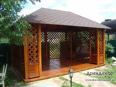 Best Ideas for dream backyard patio hot tubs Gazebo Plans, Backyard Gazebo, Outdoor Pergola, Pergola Kits, Casa Patio, Diy Patio, Hot Tub Gazebo, Gazebos, Wooden Gazebo