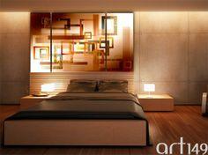 Eleganckie kolory w sypialni? Tą i inne propozycje aranżacji wnętrz znajdziecie w naszym sklepie Art149.