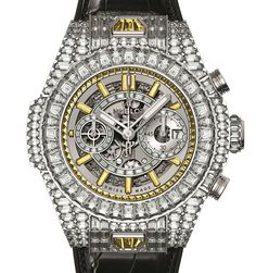"""One Million Dollar Watches: Hublot Big Bang UNICO Haute Joaillerie Collection - by Rob Nudds """"...For my birthday, I got a new razor. For the 10th birthday of the Hublot Big Bang, the Nyon-based manufacture is giving you, the paying public, a little gift in the form of the Hublot Big Bang Unico Haute Joaillerie Collection. If you happen to have $1,000,000 burning a hole in your pocket, you are cordially invited..."""""""