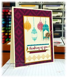 Stampin' Up! NEW Moroccan Nights, Bada-Bing! Paper-Crafting!: Freaking Excited