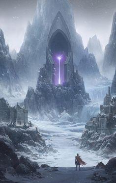 Incubation by Donghee Han on ArtStation. Dark Fantasy Art, Fantasy Artwork, Fantasy Art Landscapes, Fantasy Concept Art, Fantasy City, Fantasy Castle, Fantasy Places, Fantasy Kunst, Fantasy Rpg