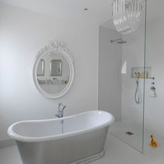 that's a nice and simple shower - love the valves location, you can turn the water on without getting wet :-)