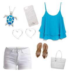 """Turtles and seas"" by tsippel ❤ liked on Polyvore"