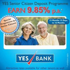 YES BANK offers many features on its wide range of fixed deposit schemes. Along with this, it also provides easy funds withdrawal through their sweep-in-facility.  To know more about the various fixed deposit interest rates and schemes by YES BANK, visit: http://www.yesbank.in/branch-banking/personal/fixed-deposits.html