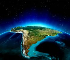 América do Sul Earth At Night, South America Map, Planets Wallpaper, Space Photography, Earth From Space, Nature Pictures, Wonders Of The World, Cosmos, Photos