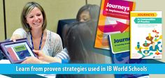 Newsletter image to promote Journeys series - done with the International Baccalaureate