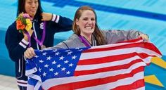 17-yr-old American Missy Franklin won her first-ever Gold Medal in the Women's 100m Backstroke at the London Olympics 2012! (Photo: Associated Press)