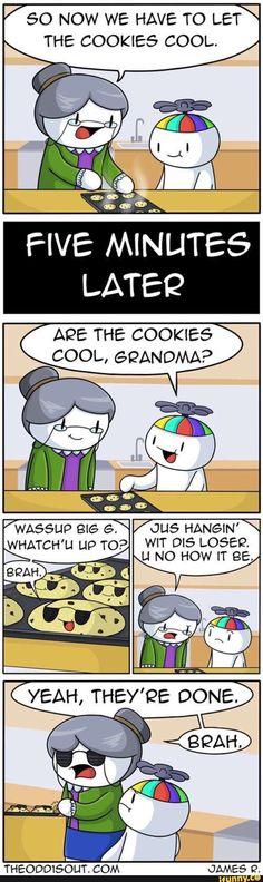 theodd1sout, cookies, cool, grandma