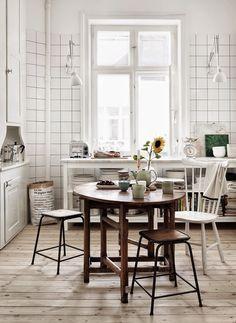 A Skåne apartment with a lovely autumn feel