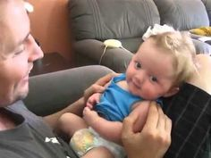 funny baby laugh and cry in same time - http://thatfunnyblog.com/funny-kids-babies/funny-baby-laugh-and-cry-in-same-time/