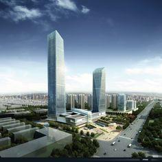 Mixed Use Center in Zhangjiagang / ATKINS,Courtesy ATKINS