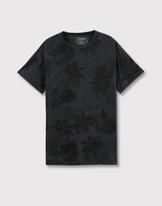 FLORAL ALL OVER PRINT T-SHIRT - T-SHIRTS AND POLO SHIRTS - MAN - PULL&BEAR Indonesia