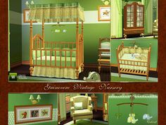 cashcraft's Guinevere Vintage Nursery **FIXED** - SHS DL