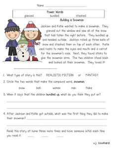 Worksheets Comprehension Passages For Grade 1 first grade reading free wallpaper backgrounds and definitions on fun in comprehension fluency packets