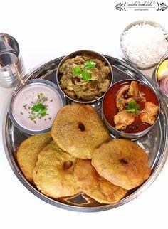 Malvani Chicken Thali Recipes
