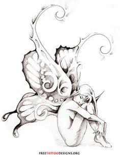 Fairy Tattoo | Fairy Tattoo Gallery