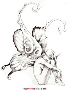 Fairy Tattoo | Fairy Tattoo Gallery