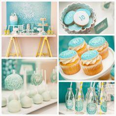 Blue Theme Birthday Ideas