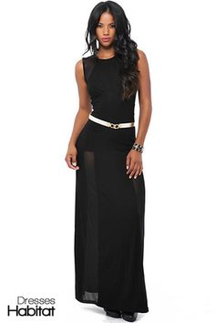 Sexy Sovereign Maxi Dress - $44.25  at DressHabitat.com - #DressesHabitat #FashionHabitat