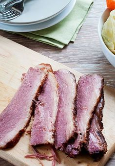 How to make corned beef from scratch: once you taste the real deal, you'll never go back to the pre-brined store bought version.