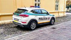 Hyundai Tucson Police car
