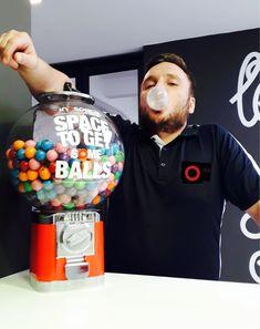 Space to Get Balls Bubble Gum, Lemonade, Balls, Bubbles, Space, Drinks, Bottle, Breakfast, Inspiration