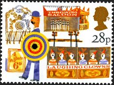 Royal Mail Special Stamps | Side-shows