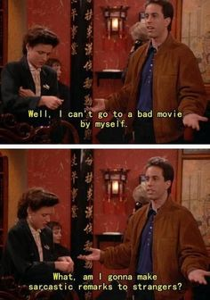 I don't care for Seinfeld.  But this is SO true.