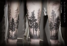 landscape forearm tattoo - Google Search                                                                                                                                                                                 More