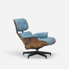 Rare Green Leather Eames Herman Miller 670 Lounge Chair   red modern ...