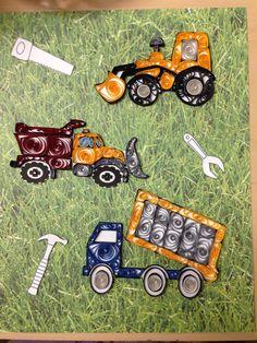 Quilled trucks