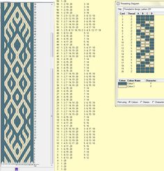 Thingy - 20 tarjetas, 2 colores , repite dibujo cada 58 movimientos   // Thingy ༺❁