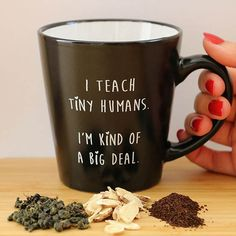 bored teachers mug