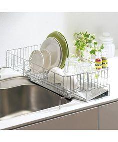 ニッセン(nissen)のオンラインショップ、こちらは シンクをまたげる伸縮水切りの商品ページです。