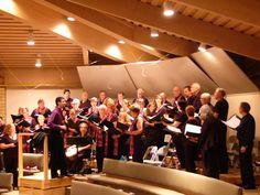 Photo from a UUCA Phoenix choir rehearsal!