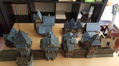 Medieval City Entrance - 28mm Buildings - Tabletop - Terrain - Diorama - Wargaming