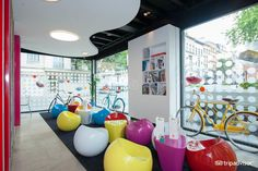 Pantone Hotel (Brussels, Belgium) - possibly worth a visit to see public spaces