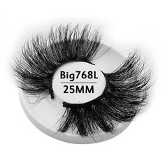 9444f0f74d7 Wholesale 25mm Big Cruelty Free 3d Mink False Strip Eyelashes Private Label  Lash Packaging Hot Sales