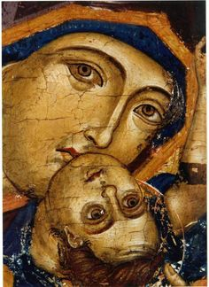 Religious Icons, Religious Art, Byzantine Art, Madonna And Child, Orthodox Icons, Blessed Mother, Mother Mary, Gods And Goddesses, Christian Art