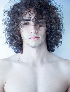 Hairstyles For Men With Curly Hair Long 95