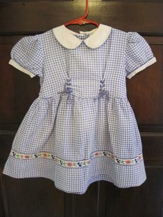 Girls Dress 1940's 2T
