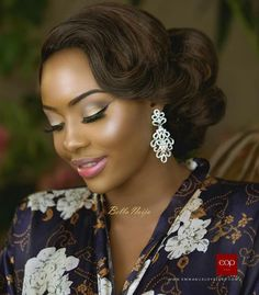 Wedding Hairstyles for Natural Hair – New Natural Hairstyles Wedding Hair And Makeup, Bridal Makeup, Hair Makeup, Black Wedding Hairstyles, Bride Hairstyles, African Wedding Hairstyles, Black Hairstyles, Bridal Beauty, Wedding Beauty