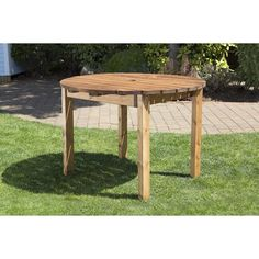 Four Seater Round Table - HB25 - Natural Collection Select