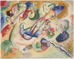 Wassily Kandinsky.  Improvisación, 1914