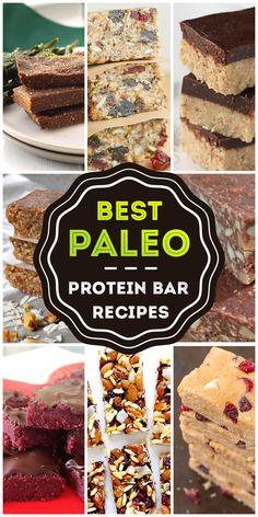 Best Paleo Protein Bar Recipes