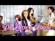 DIY- How to Make: Doll Lunchroom - BACK TO SCHOOL - Handmade - Doll - Crafts - YouTube