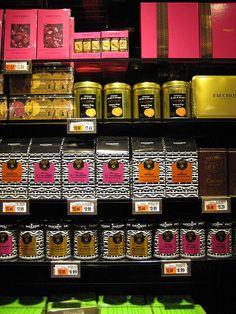 Fauchon, for 20,000 exotic foods Gourmet ShoP Address 30 place de la Madeleine Paris  Contact Information +33 1 70 39 38 00