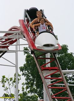 This roller coaster is the only one I ever thought I was going to die on! Scary but awesome  - Indiana Beach (Monticello, IN)