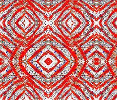 Red, white and blue waves fabric by ak-wilde on Spoonflower - custom fabric Throw Cushions, Custom Fabric, Spoonflower, Fabric Design, Printing On Fabric, Bohemian Rug, Prints, Waves, Wallpaper
